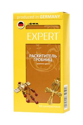 Презервативы Expert ''Расхититель гробниц'' №12 золотые