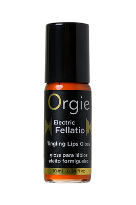 Блеск для губ с вибрирующим эффектом Orgie Sexy Vibe Electric Fellatio (10 мл)