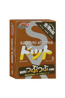 Презервативы латексные Sagami Xtreme Feel Up (3 шт)
