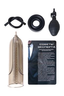 Помпа вакуумная для пениса Sexus Men Training механическая