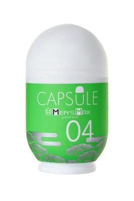 Мастурбатор нереалистичный MensMax Capsule-04 Matsu