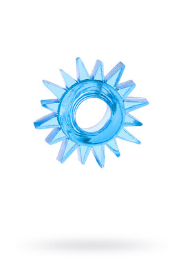 Кольцо эрекционное синее