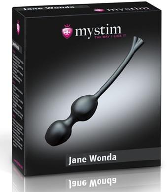 Вагинальные шарики с электростимуляцией Mystim Jane Wonda