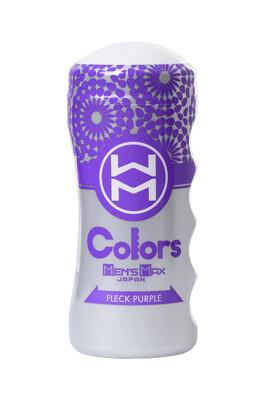 Мастурбатор нереалистичный MensMax Colors Flick Purple