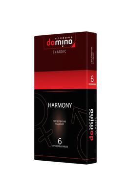 Презервативы классические Domino Harmony (6 шт)