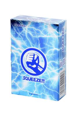 Презервативы латексные Sagami Squeeze (5 шт)