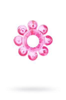 Кольцо эрекционное на пенис розовое
