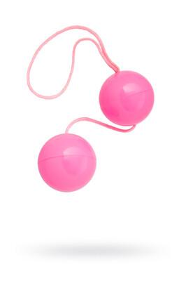 Вагинальные шарики TOYFA розовые