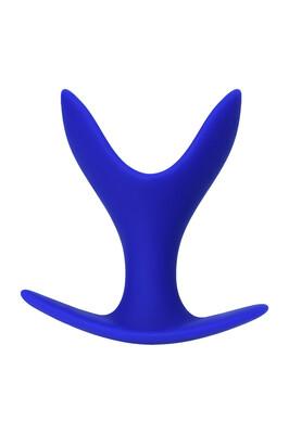 Расширяющая анальная втулка Todo Bloom синяя, размер M