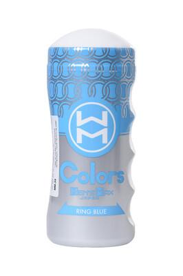 Мастурбатор нереалистичный MensMax Colors Ring Blue