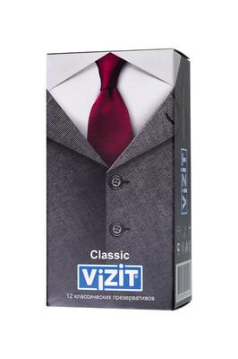 Презервативы латексные классические VIZIT Classic (12 шт)