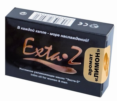 Интимное возбуждающее масло с ароматом лимона Exta-Z (1,5 мл)