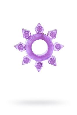 Эрекционное кольцо на пенис фиолетовое