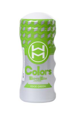 Мастурбатор нереалистичный MensMax Colors Edge Green