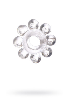 Кольцо эрекционное на пенис прозрачное