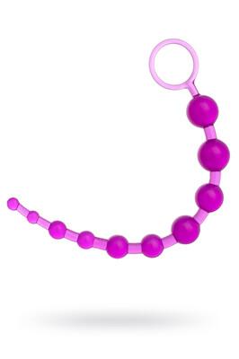 Анальная цепочка TOYFA фиолетовая