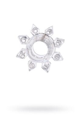 Эрекционное кольцо TOYFA прозрачное