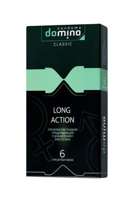 Презервативы продлевающие Luxe Domino Classic Long action (6 шт)