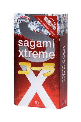 Презервативы латексные Sagami Xtreme Cola (10 шт)