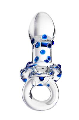 Анальная втулка стеклянная Sexus Glass 14 см