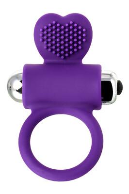Виброкольцо с ресничками JOS PERY фиолетовое
