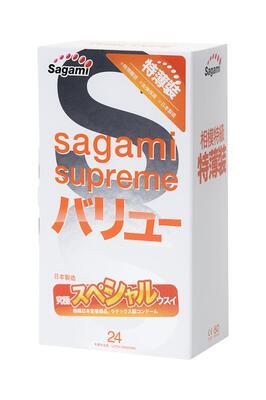 Презервативы латексные Sagami Xtreme (24 шт)