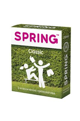 Презервативы классические Spring Classic (3 шт)