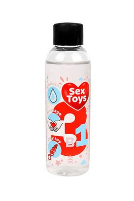 Гель-лубрикант Sex Toys 3 в 1 на водной основе (75 мл)