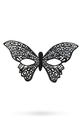 Маска нитяная Toyfa Theatre «Бабочка» черная