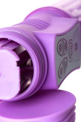 Вибратор с клиторальным стимулятором A-Toys High-Tech fantasy фиолетовый