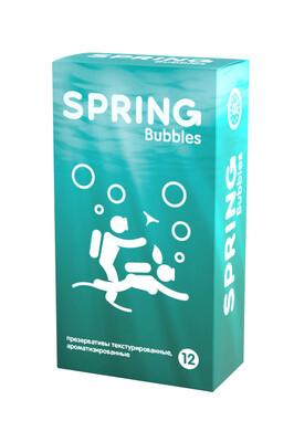 Презервативы с точечной поверхностью Spring Bubbles (12 шт)