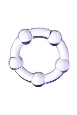 Эрекционное кольцо Toyfa A-Toys фиолетовое