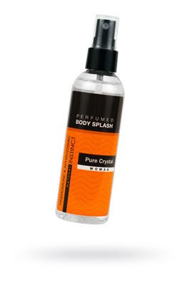 Женская парфюмированная вода для тела с феромонами и афродизиаками Body Splash Pure Crystal (100 мл)
