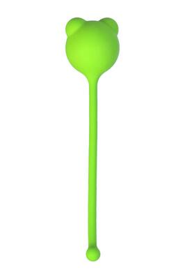 Вагинальный шарик TOYFA силиконовый зеленый D 2,7 см