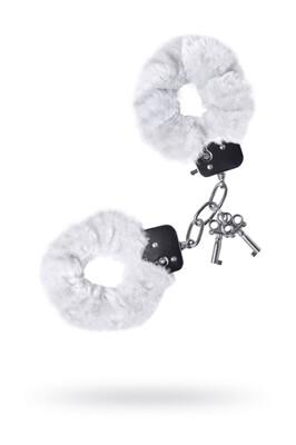 Наручники Theatre меховые белые
