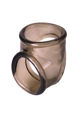 Эрекционное кольцо на пенис XLover чёрное