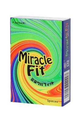 Презервативы ультратонкие анатомической формы латексные Sagami Miracle (5 шт)