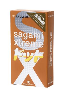 Презервативы латексные Sagami Xtreme Feel Up (10 шт)
