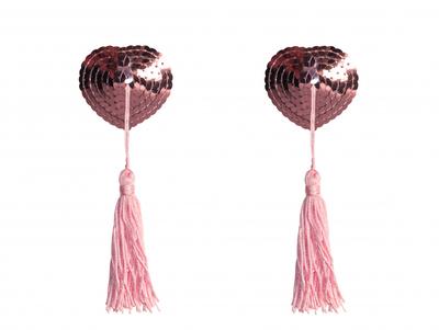 Пэстисы розовые с кисточкой Burlesque Gipsy