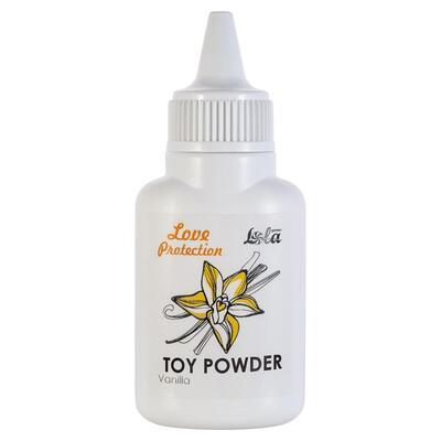 Пудра для игрушек Love Protection с ароматом ванили (15 г)
