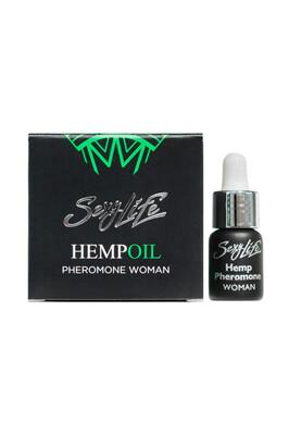 Духи женские концентрированные с феромонами и маслом конопли HempOil Pheromone women (5 мл)