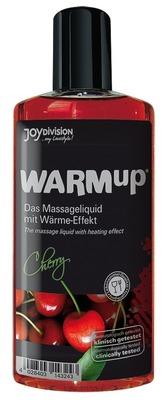 Съедобное разогревающее массажное масло со вкусом вишни JoyDivision WARMup (150 мл)