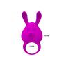 Эрекционное виброкольцо Naughty Bunny