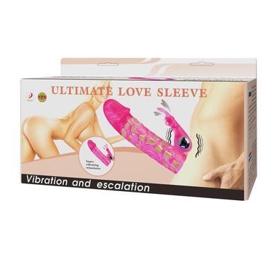 Насадка на пенис с вибрацией Ultimate Love