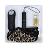 Леопардовые трусики с вибро-пулей на дистанционном управлении