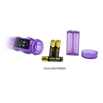 Гнущийся вибратор с мощным клиторальным стимулятором
