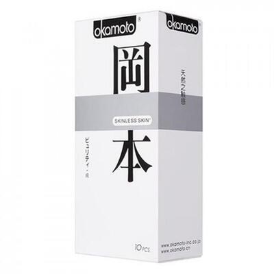 "Презервативы ""OKAMOTO SKINLESS SKIN"" PURITY №10 (классические)"