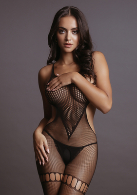 Боди-комбинезон Net High Neck Bodystocking