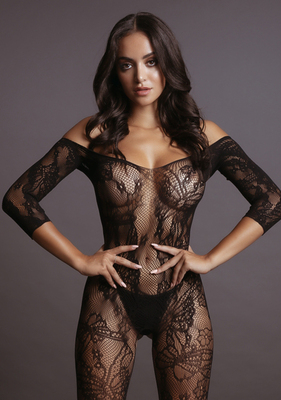 Боди-комбинезон Lace Sleeved Bodystocking