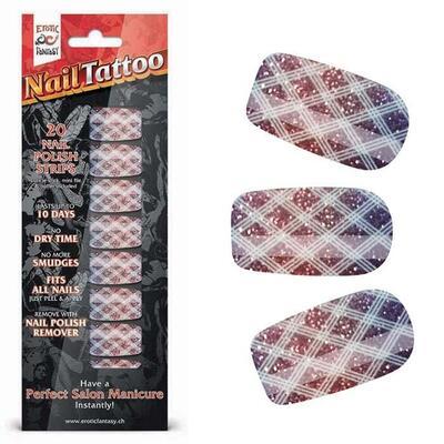 """Набор лаковых полосок для ногтей """"Блестящий градиент"""" Nail Foil"""